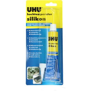UHU Hochtemperatur-Silikon, 80 ml Tube, schwarz