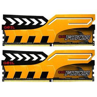 16GB GeIL EVO Forza gelb DDR4-3000 DIMM Dual Kit