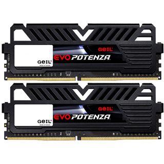 16GB GeIL EVO Potenza schwarz DDR4-3000 DIMM Dual Kit