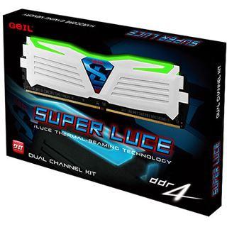 8GB GeIL EVO Super Luce grüne LED weiß DDR4-2400 DIMM CL16