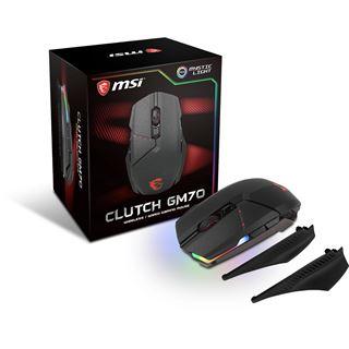 MSI Clutch GM70 USB schwarz (kabellos)
