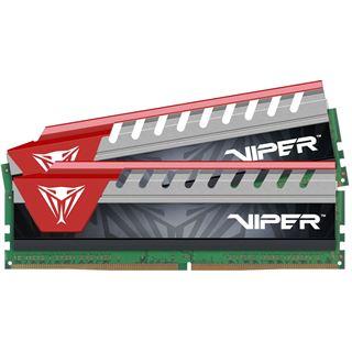 8GB Patriot Viper Elite rot DDR4-3000 DIMM CL16 Dual Kit