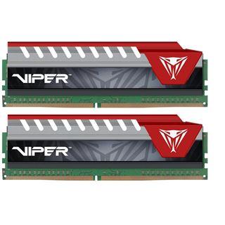 16GB Patriot Viper Elite rot DDR4-2400 DIMM CL15 Dual Kit