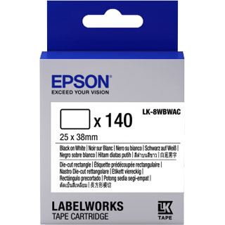 Epson TAPE - LK8WBWAC D-CUT R schwarz/weiß