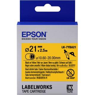 Epson TAPE - LK7YBA21 HST schwarz/gelb