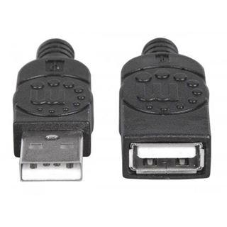 (€3,90*/1m) 1.00m Manhattan USB2.0 Verlängerungskabel USB A