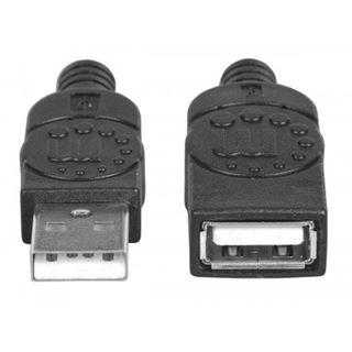 (€7,80*/1m) 0.50m Manhattan USB2.0 Verlängerungskabel USB A