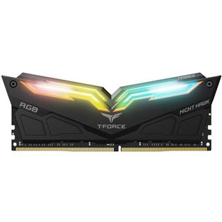 16GB TeamGroup T-Force Night Hawk RGB schwarz DDR4-3200 DIMM CL16