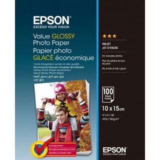 Epson VALUE GLOSSY PHOTO PAPER 100 Blatt