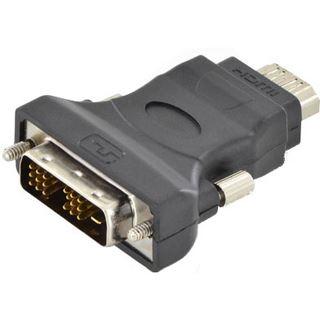 DIGITUS Adapter, HDMI Typ A-Kupplung-DVI-D 18+1 Pol Stecker