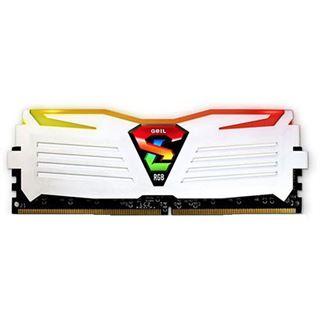 32GB GeIL EVO Super Luce RGB LED weiß DDR4-2133 DIMM CL15 Dual