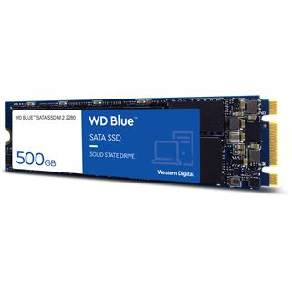 500GB WD Blue M.2 2280 SATA 6Gb/s 3D NAND (WDS500G2B0B)