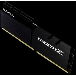 32GB G.Skill Trident Z schwarz DDR4-4133 DIMM CL19 Quad Kit