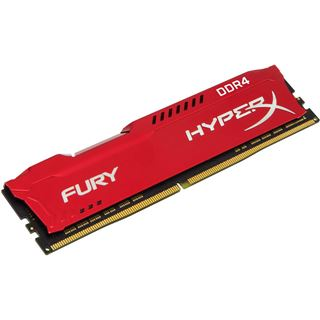 8GB HyperX FURY rot DDR4-2400 DIMM CL15 Single