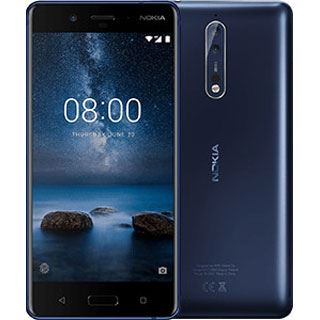 Nokia 8 tempered blue Single SIM