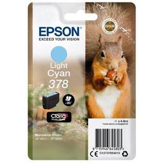 EPSON C13T37854010 XP8500 TINTE L cyan ST