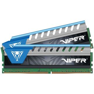 8GB Patriot Viper Elite blau DDR4-2666 DIMM CL16 Dual Kit