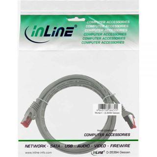 (€2,45*/1m) 2.00m InLine Cat. 6 Patchkabel S/FTP PiMF RJ45