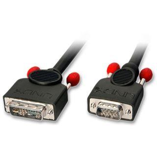 Lindy Adapterkabel DVI-A, 5m DVI-A Stecker an VGA Stecker