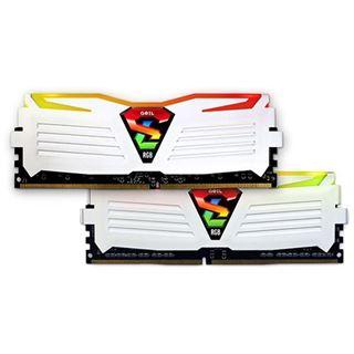 16GB GeIL Super Luce RGB weiß DDR4-2133 DIMM CL15 Dual Kit