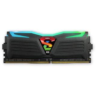 16GB GeIL EVO Super Luce Sync RGB LED schwarz DDR4-3000 DIMM CL16