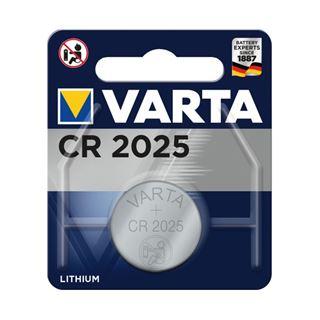 Varta Professional CR2025 Lithium Knopfzellen Batterie 3.0 V 1er Pack
