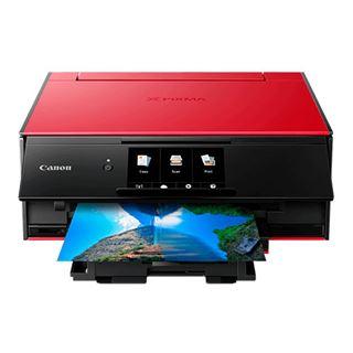 Canon PIXMA TS9155 Tintenstrahl-Multifunktionsgerät rot