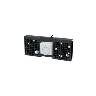 LogiLink Dachlüftereinheit, 2 Lüfter, (RAL9005) schwarz