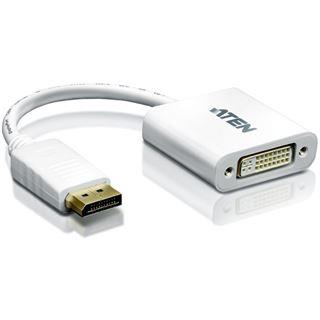 ATEN Technology Displayport 1.1a Adapter Displayport Stecker auf DVI