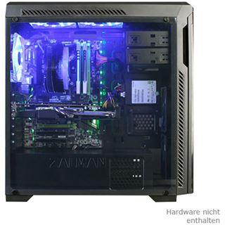 Zalman Z9 NEO Plus mit Sichtfenster Midi Tower ohne Netzteil schwarz