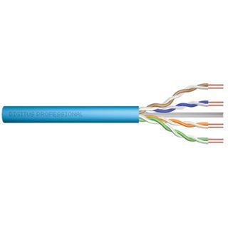305.00m Digitus Cat. 6a Verlegekabel U/UTP ohne Stecker Blau Simplex