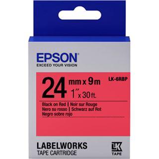 Epson Tape - LK6RBP Pastel schwarz