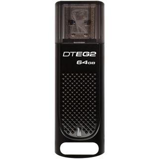 64 GB Kingston DataTraveler Elite G2 schwarz USB 3.0