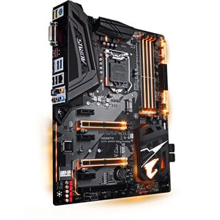 Gigabyte Z370 AORUS Ultra Gaming Intel Z370 So.1151 Dual Channel DDR4