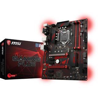 MSI Z370 GAMING PLUS Intel Z370 So.1151 Dual Channel DDR4 ATX Retail