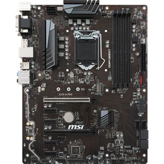 MSI Z370-A PRO Intel Z370 So.1151 Dual Channel DDR4 ATX Retail