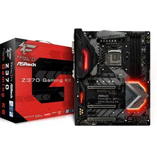 ASRock Fatal1ty Z370 Gaming K6 Intel Z370 So.1151 Dual Channel DDR4