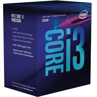 Intel Core i3 8100 4x 3.60GHz So.1151 BOX