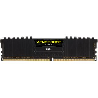 64GB Corsair DDR4 PC 3600 CL18 CORSAIR KIT (4x16GB) Veng. LPX red