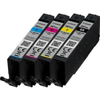 Canon Tinte INK CLI-581XXL 1998C004 cyan, magenta, gelb, schwarz