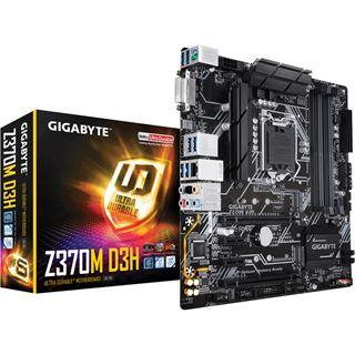 Gigabyte Z370M D3H Intel Z370 So.1151 Dual Channel DDR4 mATX Retail