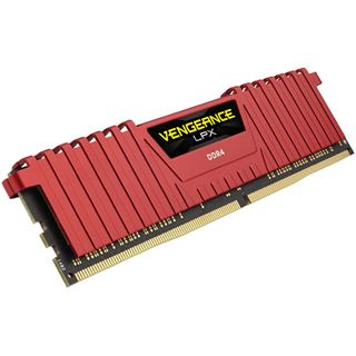 32GB Corsair Vengeance LPX rot DDR4-4000 DIMM CL19 Quad Kit