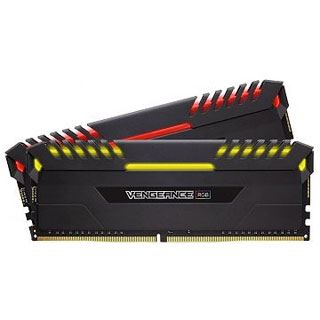 16GB Corsair Vengeance RGB schwarz DDR4-3600 DIMM CL18 Dual Kit