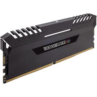 32GB Corsair Vengeance RGB schwarz DDR4-2666 DIMM CL16 Dual Kit