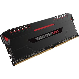 32GB Corsair Vengeance LED rot DDR4-3200 DIMM CL16 Quad Kit