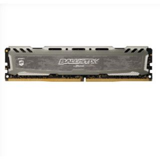 16GB Crucial Ballistix Sport LT grau DDR4-2666 DIMM CL16 Single