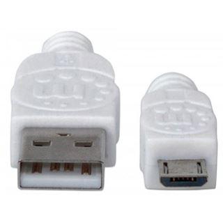 (€2,17*/1m) 1.80m Manhattan USB2.0 Anschlusskabel Hi-Speed USB A