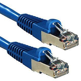 (€1,06*/1m) 30.00m Lindy Cat. 6a Patchkabel S/FTP RJ45 Stecker