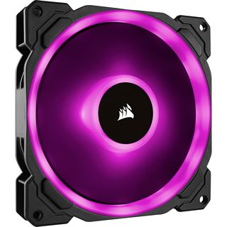 Corsair LL Series LL140 RGB 140x140x25mm 600-1300 U/min 25 dB(A)