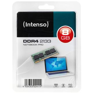 8GB Intenso Notebook Pro DDR4-2133 SO-DIMM CL15 Single